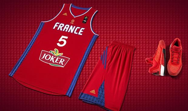 Les Nouveaux Maillots De L Equipe De France De Basketball Par Adidas