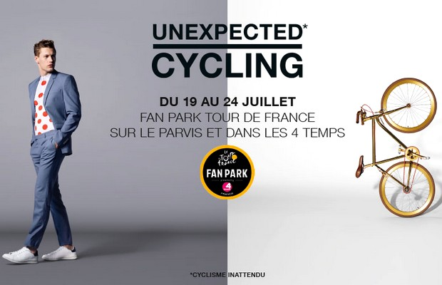 le tour de france a son fan park la d fense. Black Bedroom Furniture Sets. Home Design Ideas