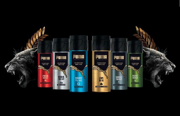 PUMA Fragrances : une ligne de déodorants qui sent la victoire