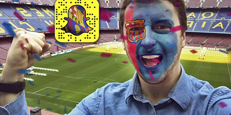 Snapchat filtre club football