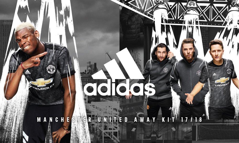 Maillot Extérieur Manchester United adidas football 2017-2018