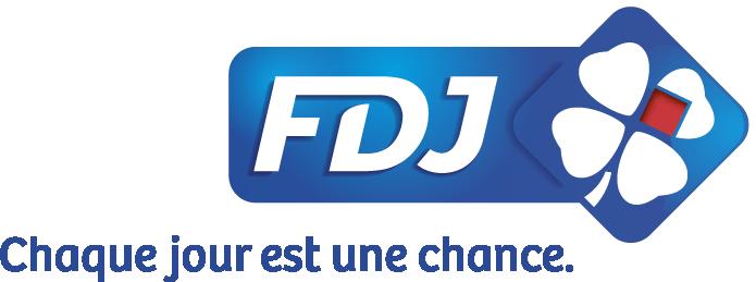 Logo FDJ + claim
