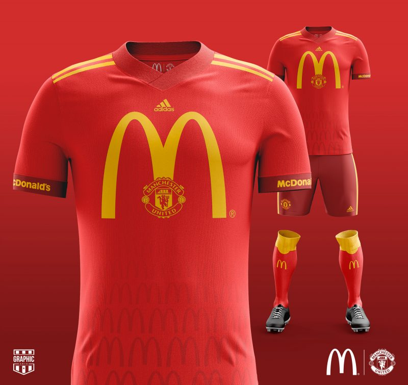 Mc Donald's x Manchester United