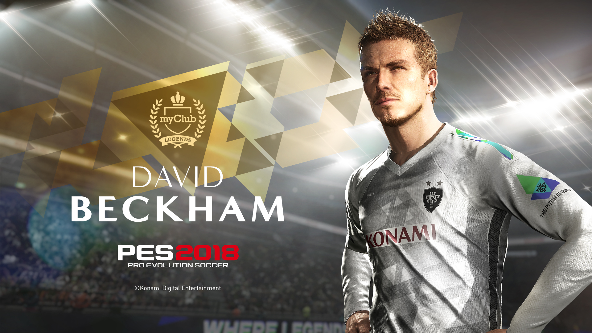 David Beckham PES 2018