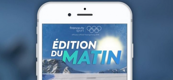Snapchat - France TV - Pyongchang 2018