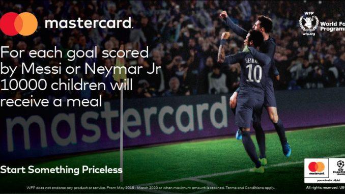 MasterCard Messi NeymarJr