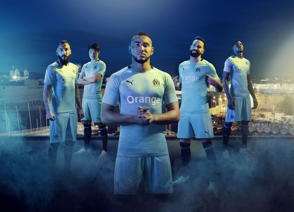 Maillot Third Olympique de Marseille Puma Football 2018-19