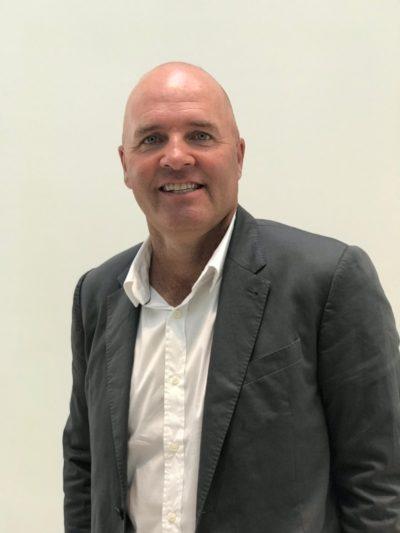 Thomas Levet, présent lors du Forum Ryder Cup Golf et Santé, le 21 septembre 2018 à la Fondation Louis Vuitton
