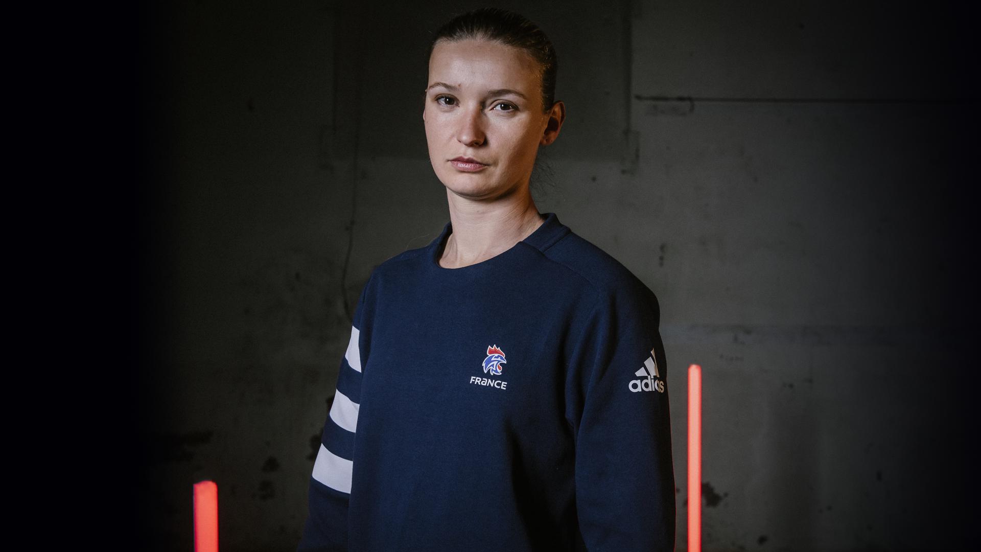 Amandine Leynaud handball adidas equipe de france