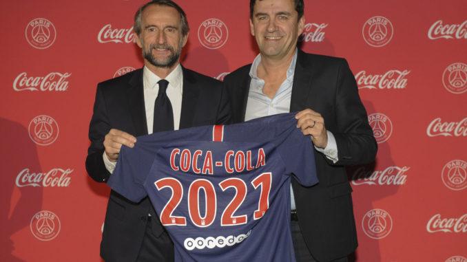 Jean-Claude Blanc, PSG et François Gay-Bellile, Coca-Cola France