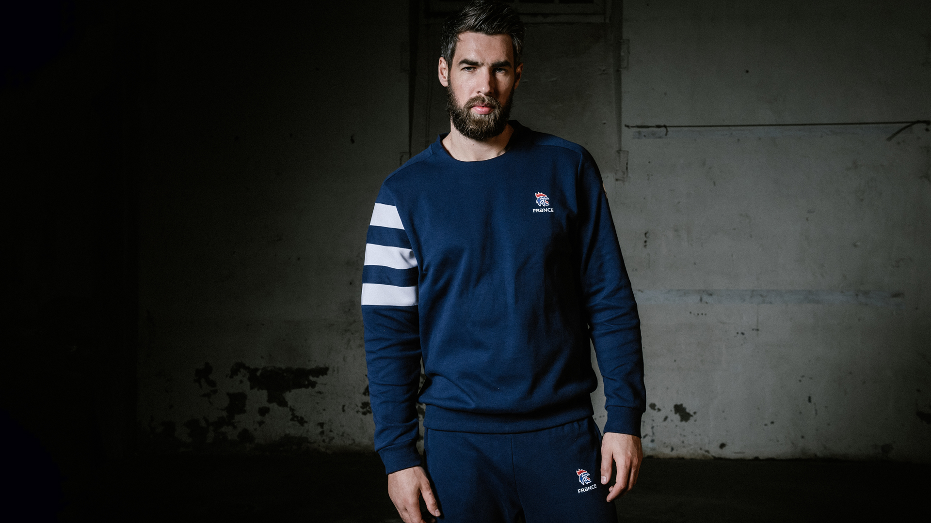 Luka Karabatic maillot collection FFHB adidas 2018