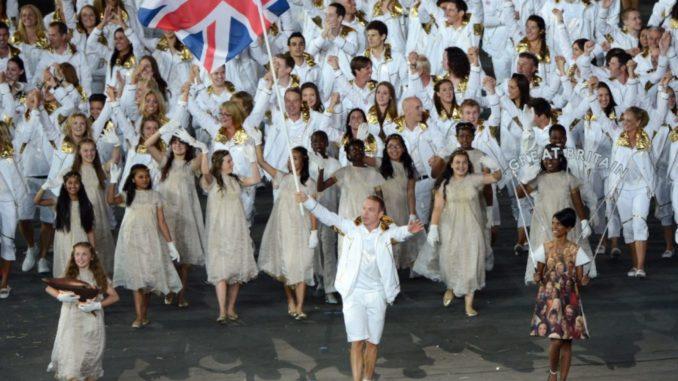 Cérémonie officielle Londres 2012 Ben Sherman Team GB