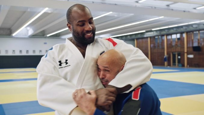 Paris 2024 Buzzman le Sport Peut Tout Changer Teddy Riner Eric Judor