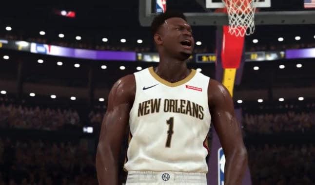 Zion Williamson NBA2K