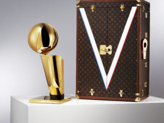 malle trophée NBA Louis Vuitton