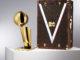 malle trophée NBA Louis Vuitton