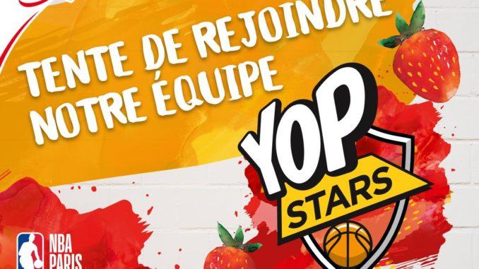 YOP yaourt officiel du NBA Paris Game 2020