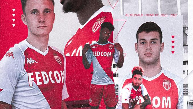 Kappa AS Monaco Home 2020-2021
