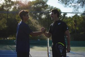 asics tennis academy patrick moratoglou