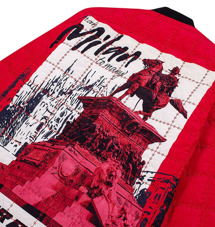 AC Milan Paper Planes Jacket