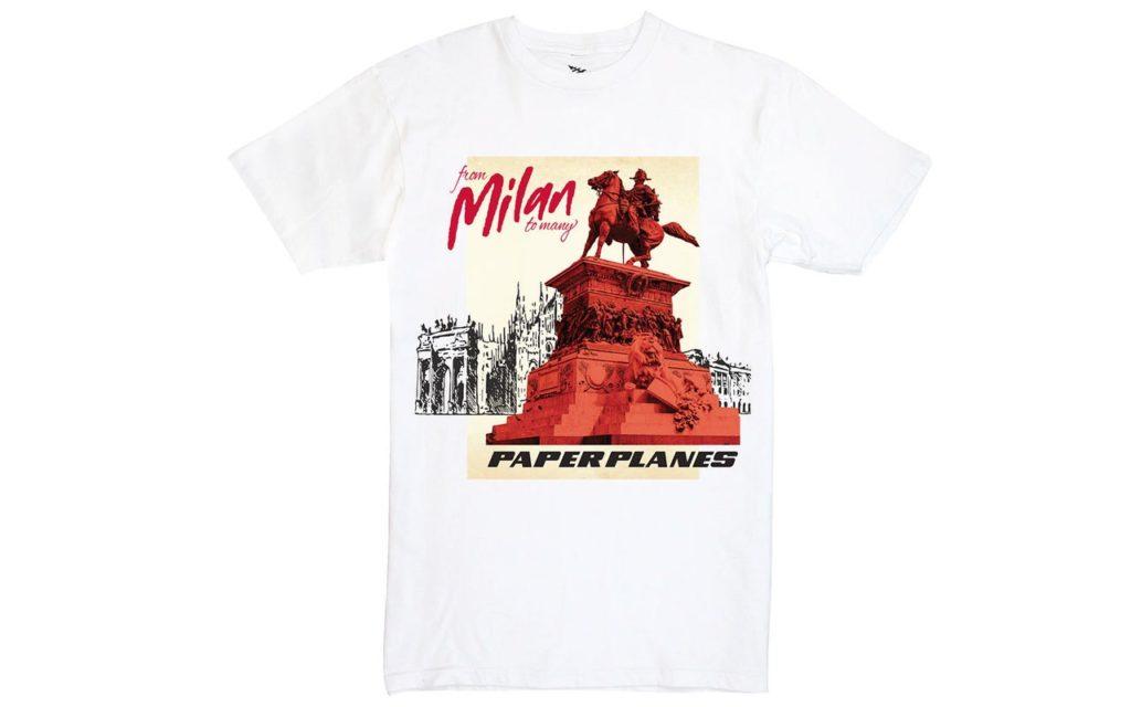 AC Milan Paper Planes Tee-Shirt
