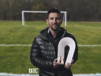 Lionel Messi Peace & Sport