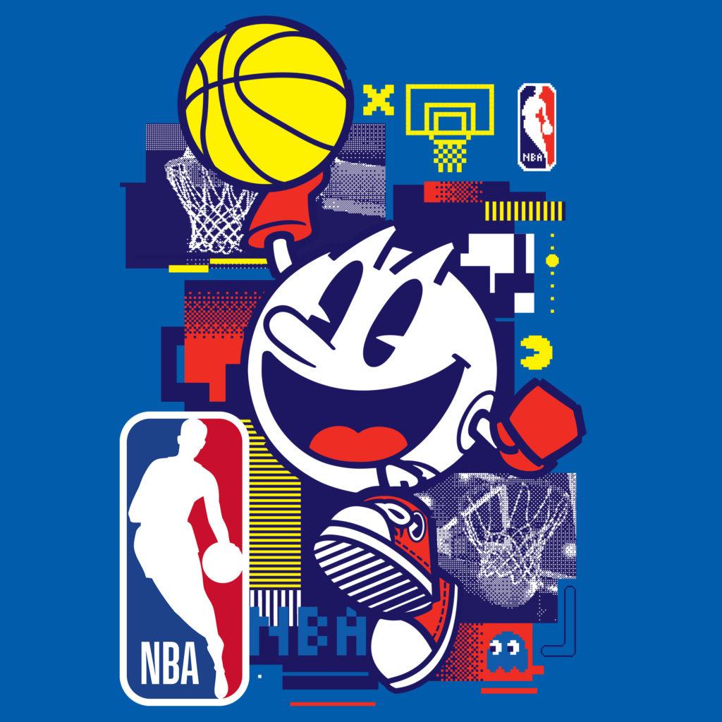 PAC MAN NBA