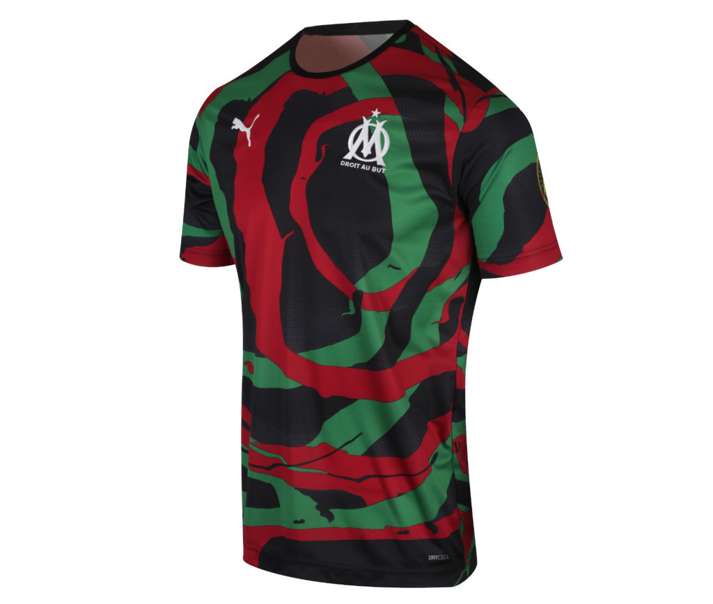 Le maillot OM Africa Maroc