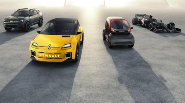 Renault en 2021 c'est ça ! De la Dacia Bigster Concept à l'iconique et populaire Renault 5 Prototype, en passant par le Mobilize EZ 1 Prototype… et la Formule 1 bien sur