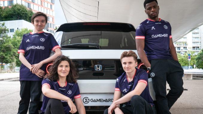 Honda enters e-sports in Europe with GameWard