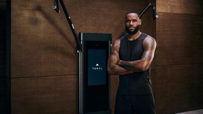 Tonal Publicizes LeBron James as New Investor and Model Ambassador